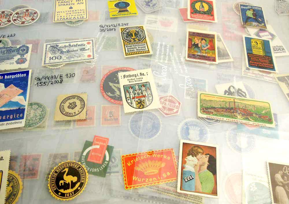 Marken in Archivierungshuellen