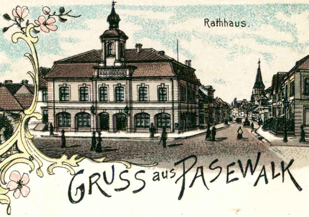 Rathaus Pasewalk Ansichtskarte