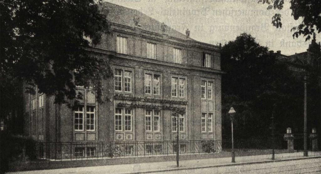 Gebaeude der OEVA 1929