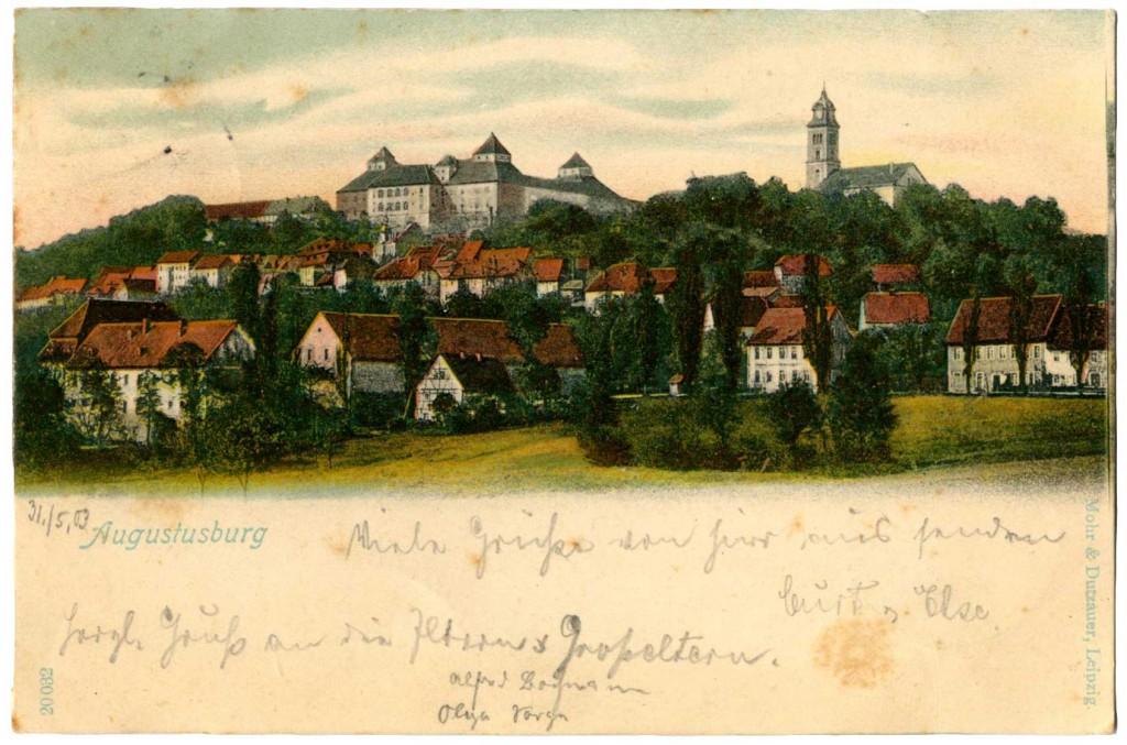 Ansichtskarte Augustusburg