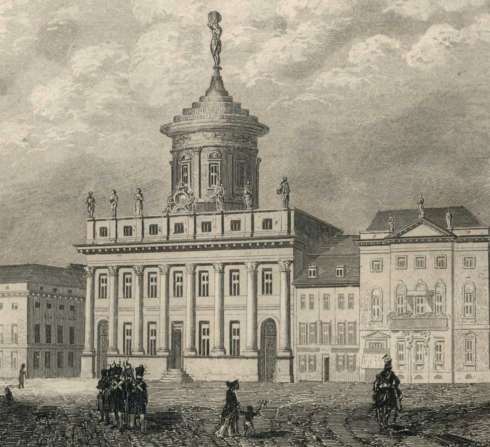 Stich Rathaus Potsdam