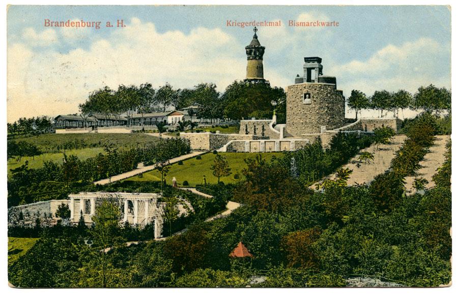 Ansichtskarte Marienberg Brandenburg 1914