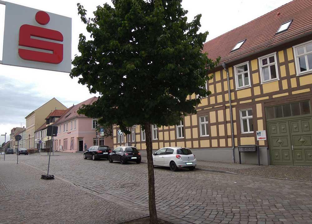 Sparkasse Templin Fachwerkhaus