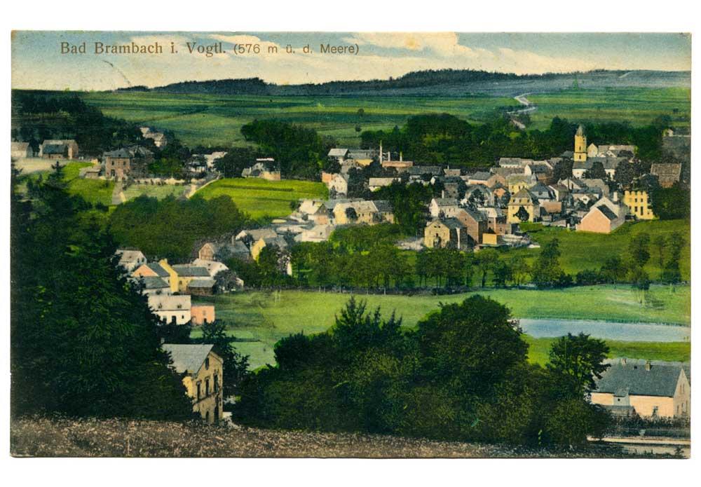 Ansichtskarte Bad Brambach