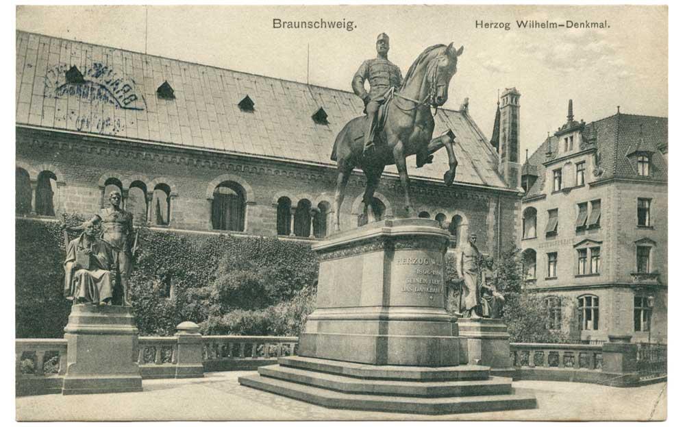 Ansichtskarte Herzog Wilhelm II. Braunschweig