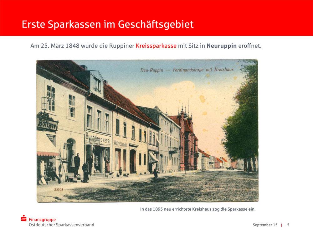 Ansichtskarte Kreishaus Neuruppin