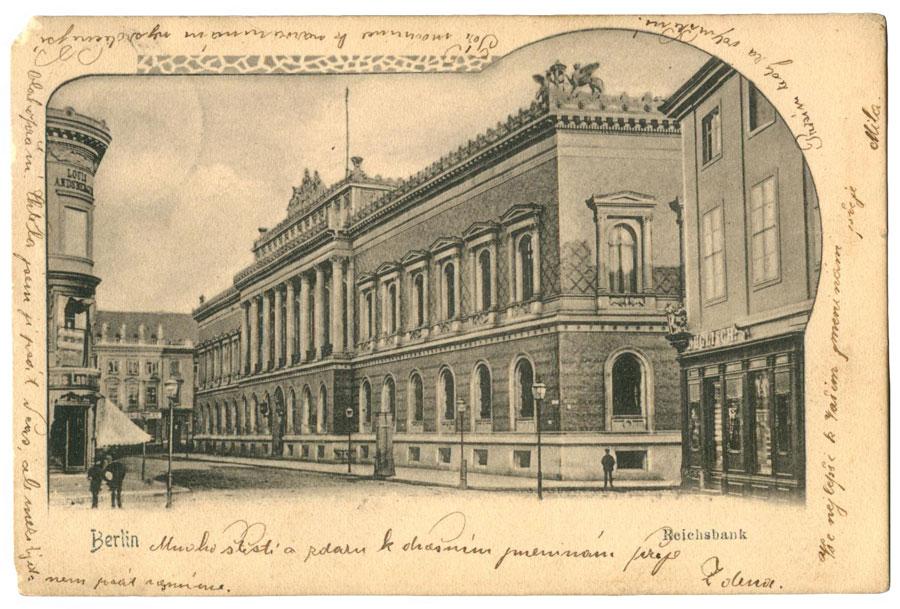 Ansichtskarte Reichsbank Berlin