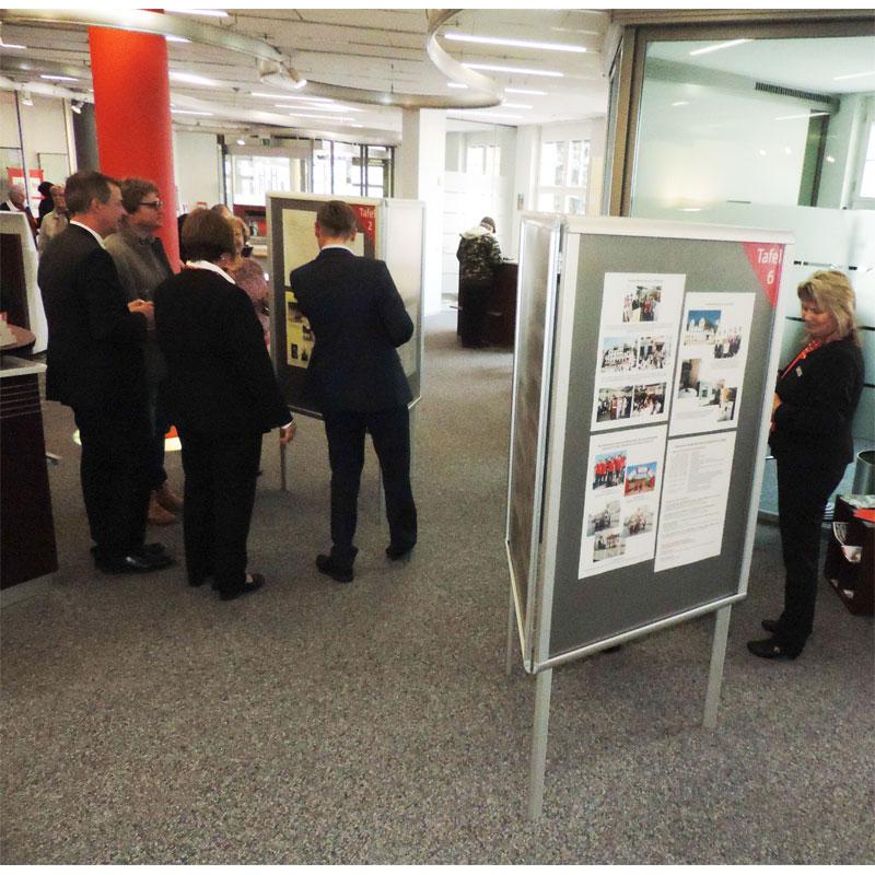 Ausstellung Colditz Sparkasse