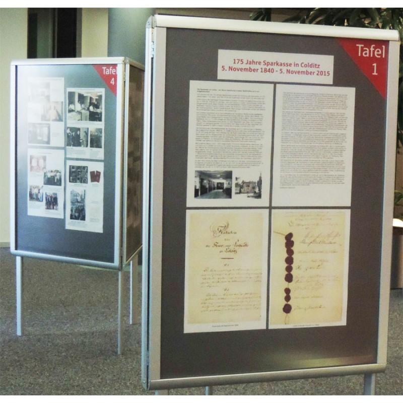 Ausstellung Sparkasse Colditz