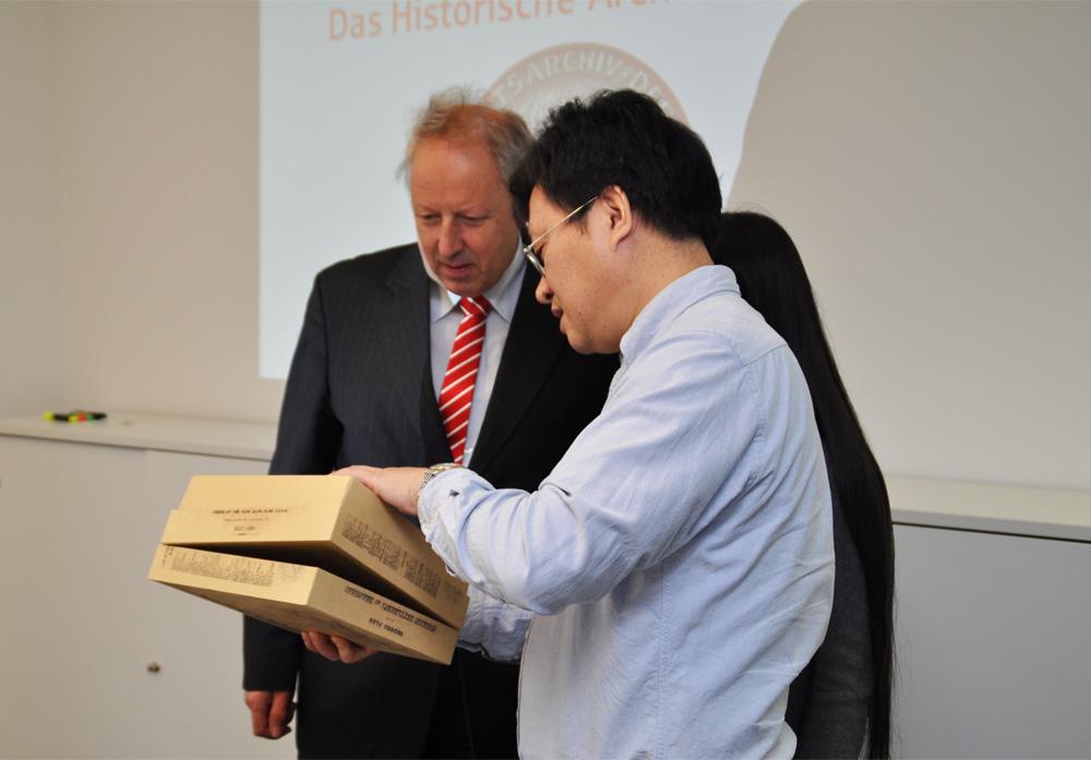 Geschenk Delegation Shanghai