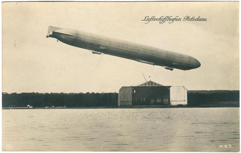 Luftschiff Luftschiffhalle Potsdam 1913