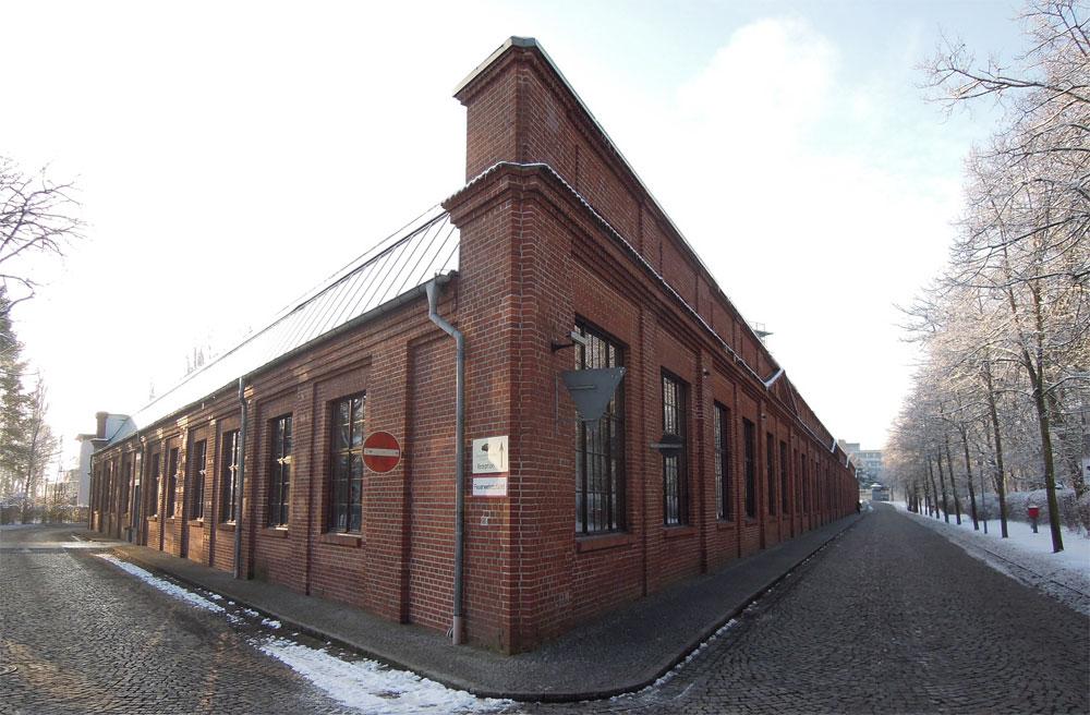 Shedhalle Luftschiffhafen