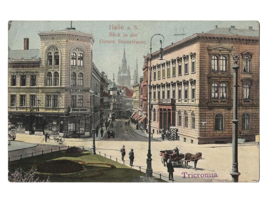 Hotel Stadt Hamburg in Halle