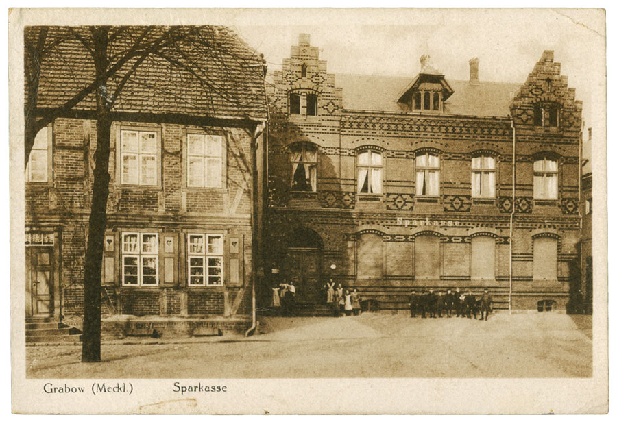 Grabow Sparkasse 1927