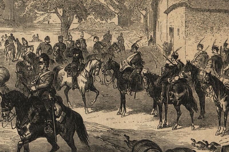 Kronprinz Sachsen Koeniggraetz
