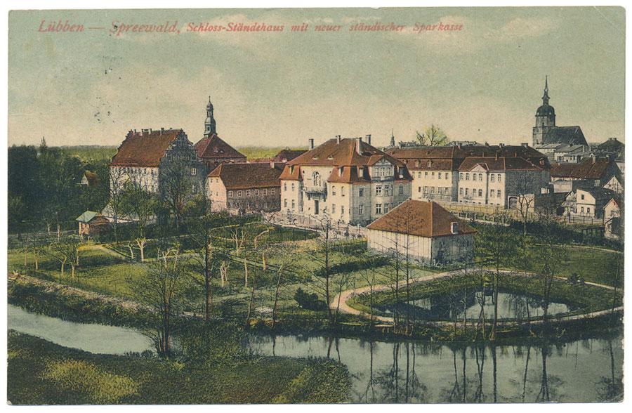 Luebben Schlossinsel Sparkasse