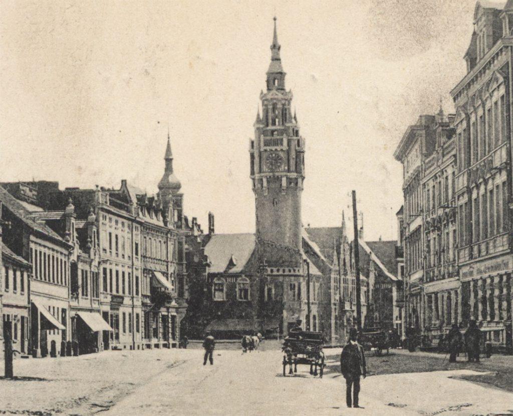 Hauptstrasse Dahme Brandenburg 1920