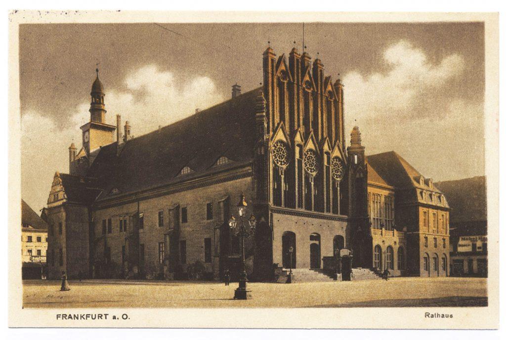 Rathaus Frankfurt Oder 1914