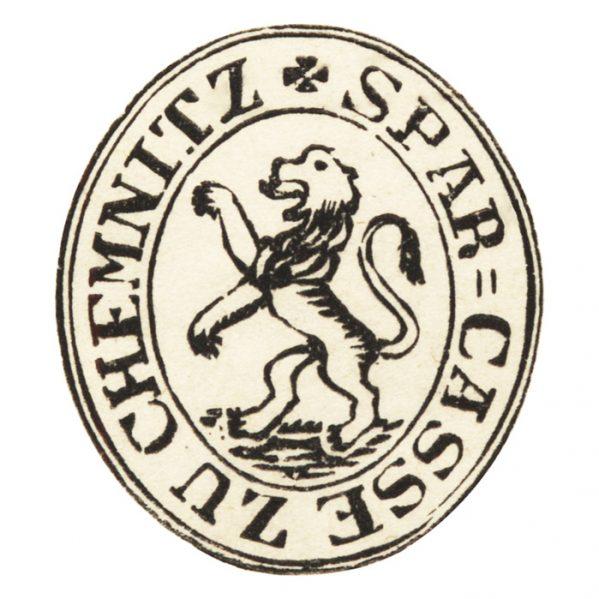 Stempel Sparkasse Chemnitz 1839