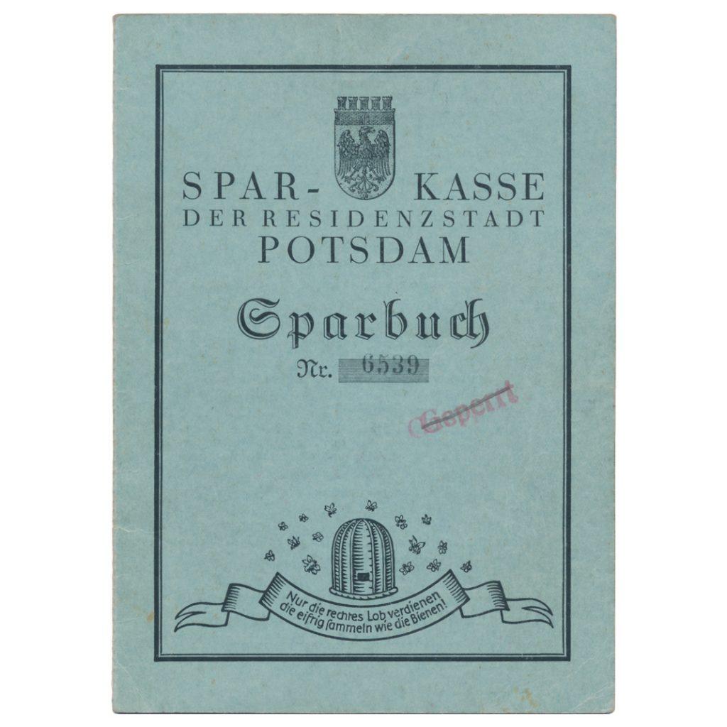 Sparkassenbuch Verloren